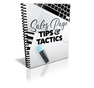 Sales Page Tips And Tactics